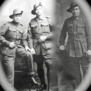 Three Hungerford soldiers