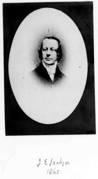 Rev JE Jackson 1865
